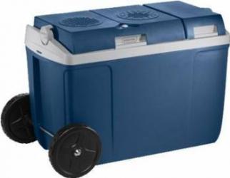Lada frigorifica termoelectrica auto Mobicool W38 AC-DC 37L 12V DC 230V AC Metallic Blue Lazi Frigorifice Auto