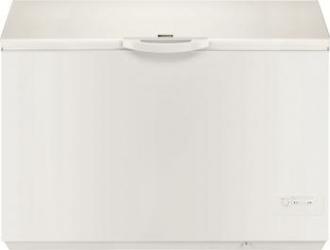 Lada frigorifica Zanussi ZFC41400WA 400 l Clasa A+ Alb Lazi si congelatoare