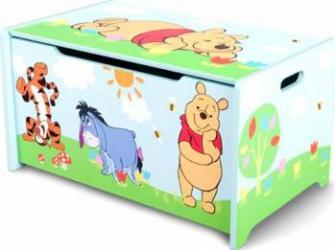 Ladita din lemn pentru depozitare jucarii Disney Winnie the Pooh Mobila si Depozitare jucarii