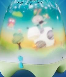 Lampa de veghe pentru copii si bebelusi Pabobo cu cantece linistitoare cu senzor