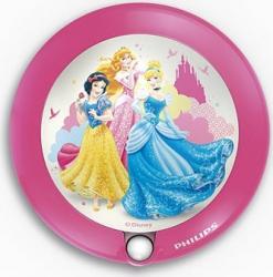 Lampa Led Philips Disney Princess cu senzor Corpuri de iluminat
