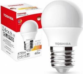 Lampa LED TOSHIBA Golf 5W (40W) 470lm 2700K 80Ra ND E27 Becuri