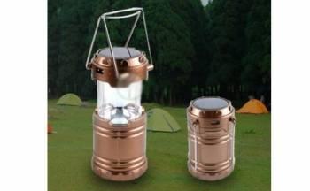 Lampa solara reincarcabila camping Becuri si corpuri de iluminat