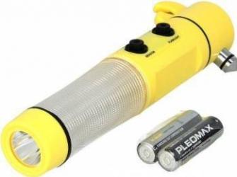 Lanterna cu LED Mammoth magnetica si cap pentru spart geam urgenta Scule auto & Accesorii