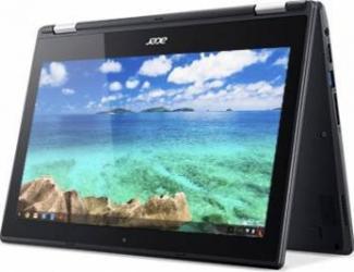 Laptop 2in1 Acer ChromeBook C738T Intel Celeron N3060 32GB 2GB HD ChromeOS Negru Laptop laptopuri