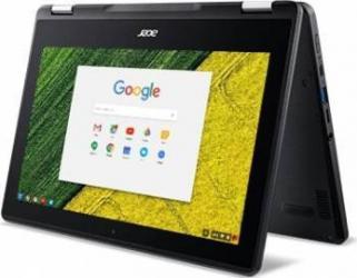 Laptop 2in1 Acer ChromeBook Spin 11 Intel Celeron N3350 32GB 4GB ChromeOS HD Touch Black Laptop laptopuri