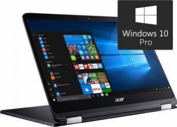 Laptop 2in1 Acer Spin SP714-51 Intel Core Kaby Lake i7-7Y75 256GB SSD 8GB Win10 Pro FullHD Laptop laptopuri