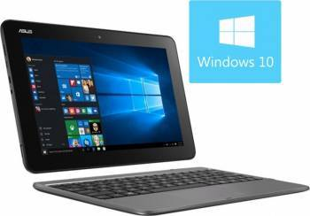 Laptop 2in1 Asus Transformer Book T101HA-GR001T Intel Quad Core Atom x5-Z8350 32GB 2GB Win10 WXGA Laptop laptopuri