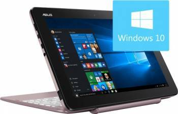 Laptop 2in1 Asus Transformer Book T101HA-GR007T Intel Atom Quad Core x5-Z8350 64GB eMMC 2GB Win10 WXGA Laptop laptopuri