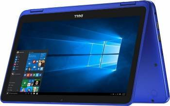 Laptop 2in1 Dell Inspiron 3168 Intel Pentium N3710 500GB 4GB HD Blue Resigilat