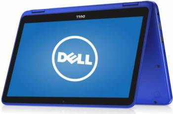 Laptop 2in1 Dell Inspiron 3168 Intel Pentium N3710 500GB 4GB HD Blue Resigilat Laptop laptopuri