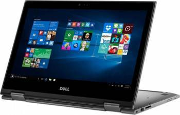 Laptop 2in1 Dell Inspiron 5378 Intel Core Kaby Lake i5-7200U 128GB 4GB Win10 FHD IPS Touch