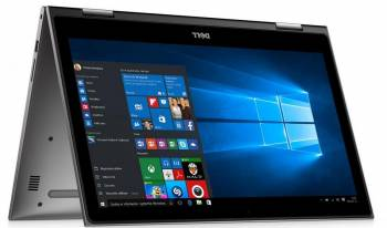 Laptop 2in1 Dell Inspiron 5579 Intel Core Kaby Lake R 8th Gen i7-8550U 512GB 16GB Windows 10 Home FHD Gray Laptop laptopuri
