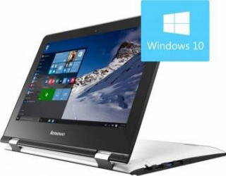 Laptop 2in1 Lenovo IdeaPad Yoga 300-11IBR Intel Pentium N3060 32GB 4GB Win10 HD Snow White Laptop laptopuri