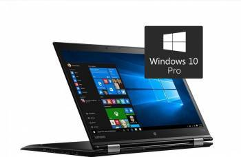 Laptop 2in1 Lenovo ThinkPad X1 Yoga 2nd Gen Intel Core Kaby Lake i7-7500U 1TB 16GB 4G LTE Win10 Pro OLED WQHD FPR Laptop laptopuri