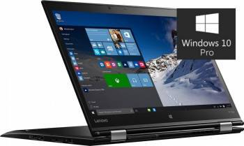 Laptop 2in1 Lenovo ThinkPad X1 Yoga Intel Core Skylake i5-6200U 256GB 8GB Win10 Pro WQHD IPS Fingerprint Touch Laptop laptopuri