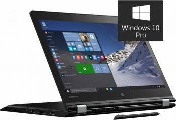 Laptop 2in1 Lenovo ThinkPad Yoga 460 Intel Core Skylake i5-6200U 256GB 8GB Win10 Pro FullHD IPS Touch Laptop laptopuri