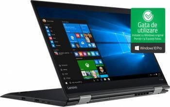 Laptop 2in1 Lenovo X1 Yoga Gen 2 Intel Core i7-7500U 512GB 8GB Win10 Pro WQHD Fingerprint laptop laptopuri