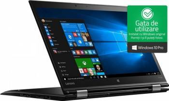 pret preturi Ultrabook 2in1 Lenovo ThinkPad X1 Yoga Gen 2 Intel Core Kaby Lake i5-7200U 512GB 8GB Win10 Pro WQHD FPR