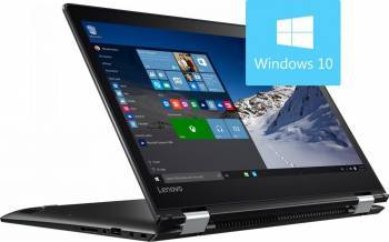 Laptop 2in1 Lenovo Yoga 510-15IKB Intel Core Kaby Lake i7-7500U 256GB 8GB AMD Radeon R7 M260 2GB Win10 FullHD IPS Touch Laptop laptopuri