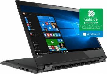 Laptop 2in1 Lenovo Yoga 520-14IKB Intel Core Kaby Lake i7-7500U 1TB 8GB Win10 FullHD Laptop laptopuri