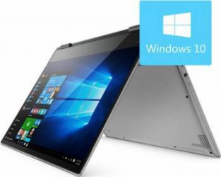 Ultrabook 2in1 Lenovo Yoga 720-13IKB Intel Core Kaby Lake i7-7500U 512GB 16GB Win10 UHD Grey laptop laptopuri