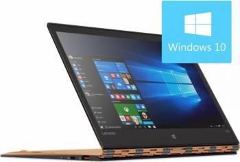 Laptop 2in1 Lenovo Yoga 900S-12ISK M5-6Y54 256GB 8GB Win10 WQHD Touch Gold Laptop laptopuri