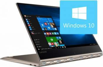 Laptop 2in1 Lenovo Yoga 910-13IKB Intel Core Kaby Lake i7-7500U 512GB 8GB Win10 FullHD IPS Touch Gold Laptop laptopuri