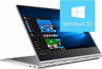 Laptop 2in1 Lenovo Yoga 910-13IKB Intel Core Kaby Lake i7-7500U 512GB 8GB Win10 FullHD IPS Touch Silver Laptop laptopuri