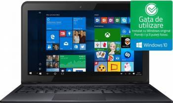 Laptop 2in1 Odys Prime 12 Intel Atom x5-Z8350 32GB 2GB Win10 WXGA Laptop laptopuri