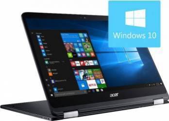 Laptop Acer 2in1 Spin SP714-51-M8MS Intel Core Kaby Lake i7-7Y75 512GB 8GB Win10 FullHD Laptop laptopuri