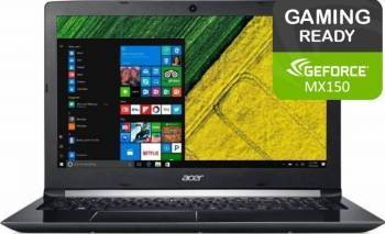 Laptop Acer Aspire 5 A515 Intel Core Kaby Lake (8th Gen) i7-8550U 1TB 4GB nVidia MX150 2GB Win10 FullHD Laptop laptopuri