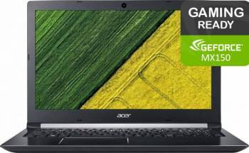 Laptop Acer Aspire 5 A515 Intel Core Kaby Lake R(8th Gen) i5-8250U 1TB 4GB nVidia GeForce MX150 2GB FullHD Silv Laptop laptopuri
