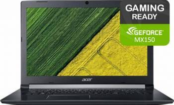 Laptop Gaming Acer Aspire 5 A517 Intel Core Kaby Lake R(8th Gen) i5-8250U 1TB 4GB nVidia GeForce MX150 2GB FullHD  Laptop laptopuri