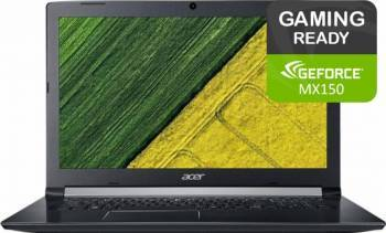Laptop Acer Aspire 5 A517 Intel Core Kaby Lake R(8th Gen) i5-8250U 256GB 4GB nVidia GeForce MX150 2GB FullHD Negru Laptop laptopuri
