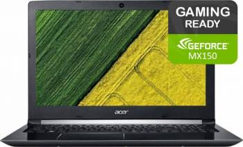 Laptop Acer Aspire A515 Intel Core Kaby Lake i7-7500U 1TB 4GB nVidia GeForce MX150 2GB FullHD Silver Laptop laptopuri