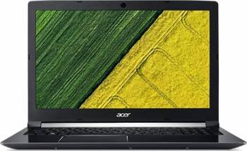Laptop Gaming Acer Aspire 7 A717 Intel Core Kaby Lake i7-7700HQ 256GB 8GB nVidia GeForce GTX 1050 Ti 4GB FullHD FPR Laptop laptopuri