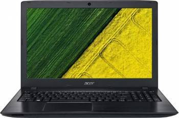 Laptop Acer Aspire E5 Intel Core i3-6006U 1TB 4GB nVidia GeForce 940MX 2GB FullHD Negru Laptop laptopuri