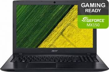Laptop Acer Aspire E5 576G Intel Core Kaby Lake R (8th Gen) i5-8250U 1TB 4GB MX150 2GB FullHD Laptop laptopuri