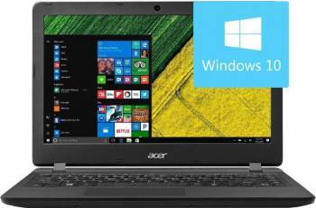 Laptop Acer Aspire ES1-332-C42U Intel Celeron N3450 64GB 4GB Win10 HD Negru Laptop laptopuri