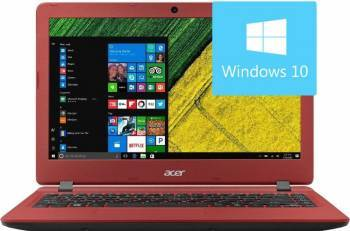 Laptop Acer Aspire ES1-332-C700 Intel Celeron N3450 64GB 4GB Win10 HD Rosu Laptop laptopuri