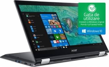 pret preturi Ultrabook 2in1 Acer Spin 3 SP314-51-33LH Intel Core Kaby Lake (8th Gen) i3-8130U 1TB+16GB SSD 4GB Win10 FHD Resigilat