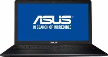 Laptop Gaming Asus F550VX Intel Core Kaby Lake i7-7700HQ 256GB 8GB nVidia Geforce GTX950M 4GB FullHD Negru Laptop laptopuri
