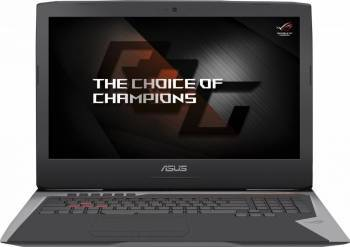 Laptop Asus G752VS Intel Core Kaby Lake i7-7700HQ 1TB HDD+256GB SSD 32GB nVidia GeForce GTX 1070 8GB Win10 FullHD Laptop laptopuri