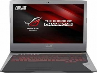 Laptop Asus G752VT Intel Core Skylake i7-6700HQ 1TB-7200rpm 8GB GTX 970M 3GB Win10