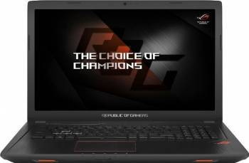 Laptop Gaming Asus ROG GL753VD Intel Core Kaby Lake i7-7700HQ 1TB HDD 8GB nVidia GeForce GTX 1050 4GB FullHD Tast. ilum. Laptop laptopuri