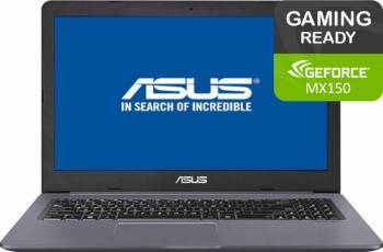 Laptop Gaming Asus VivoBook Pro 15 N580VN Intel Core i5-7300HQ 256GB SSD 8GB nVidia GeForce MX150 4GB FullHD FPR  Laptop laptopuri