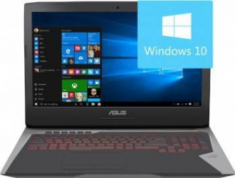 Laptop Asus ROG G752VS KBL -BA369T Intel Core KabyLake i7-7820HK 1TB HDD+2 x 256GB SSD 32GB nVidia GTX1070 8GB Win10 FHD Laptop laptopuri