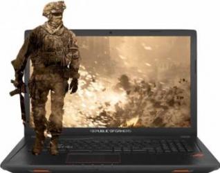 Laptop Asus Rog Strix GL753VD Intel Core Kaby Lake i7-7700HQ 1TB HDD+128GB SSD 16GB nVidia Geforce GTX1050 4GB FHD Laptop laptopuri