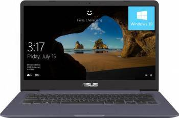 Laptop Asus VivoBook S14 S406UA Intel Core Kaby Lake R (8th Gen) i7-8550U 256GB 8GB FullHD Win10 Laptop laptopuri